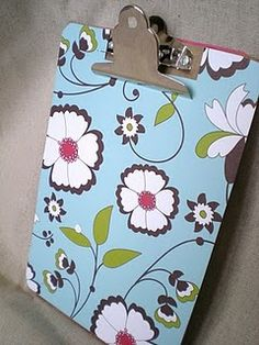 @Deborah Guy - if you never found your colored clipboard, I know what we can do to make yours different :)