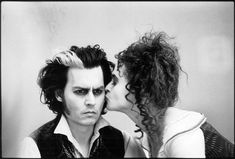 Photo : Mary Ellen Mark - Johnny Depp et Helena Bonham Carter sur le tournage de Sweeney Todd - 2007