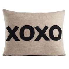 I pinned this XOXO Pillow from the Roxy Owens event at Joss and Main!