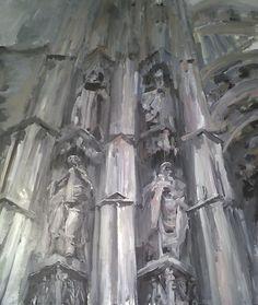 Cathedral. Seville. Mercedes Garrido - Síndrome Stendhal Catedral Sevilla.