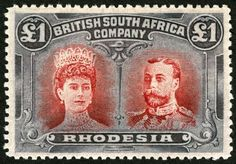 Valuable British South Africa Company Stamp. More about stamps: http://sammler.com/stamps/