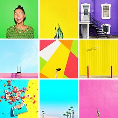 75 COLOURFUL INSTAGRAM ACCOUNTS THAT YOU NEED TO FOLLOW RIGHT NOW! | Bespoke-Bride: Wedding Blog Instagram Design, Instagram Tips, Instagram Accounts, Best Instagram Feeds, Instagram Creator, Flat Lay Photography, Social Media Banner, Saturated Color, Color Themes