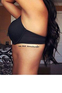 message tatouage