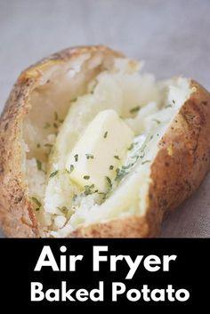 Air Fryer Baked Potatoes Recipe Air fryer recipes easy