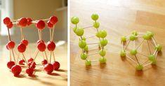 Edible Art – Grape & Toothpick Sculptures