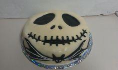 The Jack Skellington cake