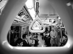 Tokyo Subway by Luca Rossini Abstract Photography, Light Photography, Photography Photos, Black And White Photography, Street Photography, Tokyo Subway, Belle Photo, Japan, Pictures