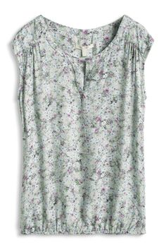 #Esprit shirt #blouse in a #mille-fleur design