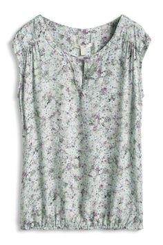 #Esprit shirt #blouse in a #mille-fleur design