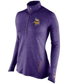 611a69bf5 Nike Women's Minnesota Vikings Stadium Element Quarter-Zip Pullover &  Reviews - Sports Fan Shop By Lids - Women - Macy's