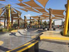 Convic creates dynamic skatepark for Dubai`s youth #skate #park #dubai #convic
