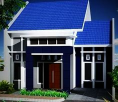 41 Simple Minimalist 1 Floor Model Homes -As we know that how to choose the latest home design models that we are always looking for buildin. Minimalist House Design, Minimalist Home, Modern House Design, Latest House Designs, Cool House Designs, Tiny House Exterior, Bungalow House Design, Interior Concept, Architect Design