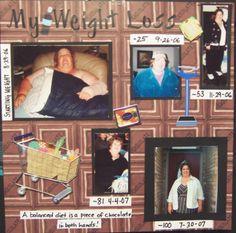 My weight loss - Scrapbook.com