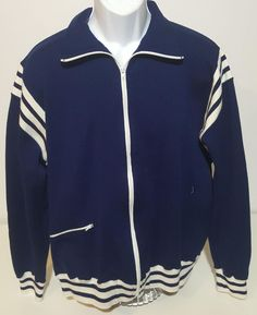Winning Ways VTG 70s Navy Blue Full Zip Old School Track Jacket Mens XL  Japan  fashion  clothing  shoes  accessories  vintage  mensvintageclothing   ad (ebay ... a59c2eebb048