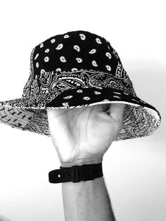 ce926dd9718 Paisley Bucket Hat Bandana Styles