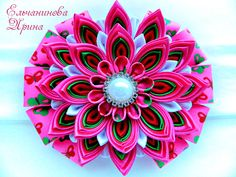 Amazing kanzashi by Elirina