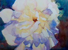 Lavender Yellow Rose, by artist Jo MacKenzie