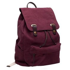 The Snap Backpack Burgundy-Everlane