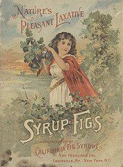 POSTER California Fig Syrup Co. Miami Wall Art Print A3 replica