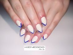 LETHBRIDGE's premiere salon & spa. Kenegdo Salon Spa truly stands out for Hair, beauty & more. Blue Tips, Salons, Nailart, Spa, Beauty, Lounges, Beauty Illustration