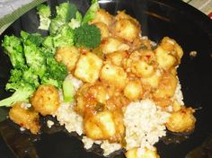 General Tso's Tofu. Make sure to cut up tofu smaller and maybe freeze for different texture? - TRIED AND LOVED