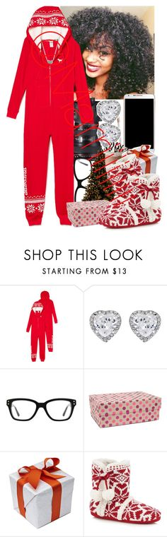 """""""Merry Christmas ( gift time) """" by marriiiiiiiii ❤ liked on Polyvore featuring Eos, Samsung, JouJou, Converse and Vivid Wrap"""