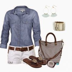 I love how comfortable but classy this looks #plunderdesign #plunderjewelry #fashion #outfits #summer