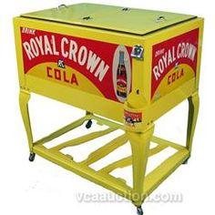 antique soda coolers