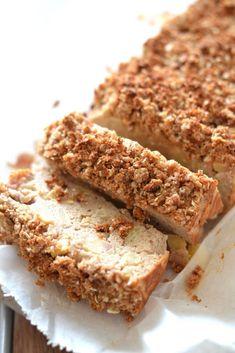 Eiwitrijke Appel Kruimel Cake