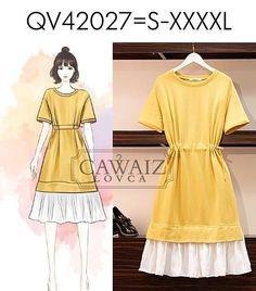 Girls Fashion Clothes, Kpop Fashion Outfits, Ulzzang Fashion, Mode Outfits, Cute Fashion, Girl Fashion, Fashion Design, Fashion Drawing Dresses, Fashion Illustration Dresses