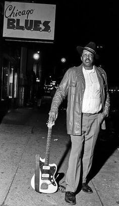 The great Blues musician Magic Slim!