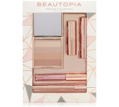 Buy Beautopia Cosmetic Set at Argos. Thousands of products for same day delivery £3.95, or fast store collection. We Make Up, Eye Make, Shimmer Bronzer, Waxing Kit, Cosmetic Sets, Contour Kit, Make Up Collection, Makeup Set, Rose Gold Glitter