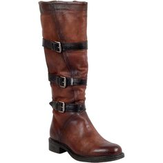 Miz Mooz Charmaine Women's Riding Boot F Riding Boot ($140) ❤ liked on Polyvore featuring shoes, boots, brandy, miz mooz, knee high boots, zipper boots, knee boots and knee length boots