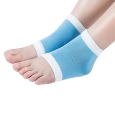 960a67cd7  3.85 AUD - Hot1Pair Gel Heel Socks Moisturing Spa Feet Care Product  Cracked Heels Foot Care