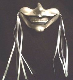 Gothic Smile Wall Mask Jester Clown Renaissance Goth