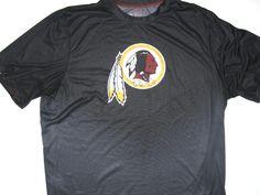 402f86c5fe Darrel Young Training Worn & Signed Washington Redskins Nike Dri-Fit 2XL  Shirt