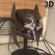 3D Printable Model: Batman Tech Cowl Helmet BVS | Print File Format: STL – Do3D.com
