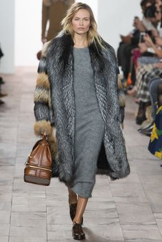 Fall 2015 Ready-to-Wear Michael Kors Model Natasha Poly (WOMEN)