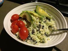 Cilantro Lime Cauliflower 'Rice'