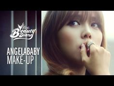 Pony's beauty diary - Angelababy makeup  - Coral and Brown shades