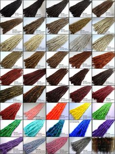 Braid in Dreadlock Extensions. Made to Order, Your Color and Length Choice. Dreadlock Extensions, Hair Extensions, Dreadlock Hairstyles, Cool Hairstyles, Dreads Styles, Hair Styles, Double Ended Dreads, Matted Hair, Synthetic Dreads