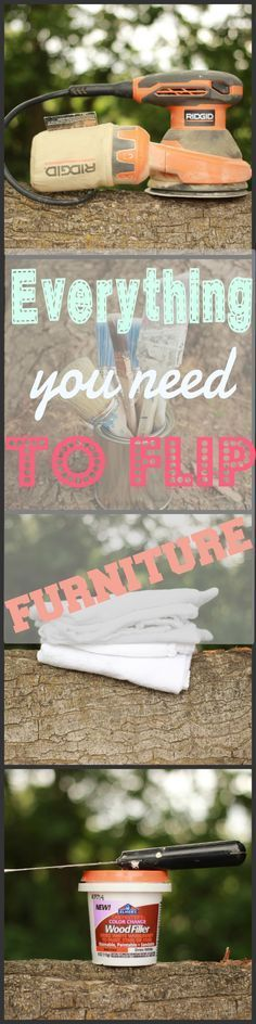 all the tools you need to start flipping furniture - How To Flip Furniture
