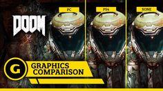 DOOM - Graphics Comparison: PC, XONE, PS4