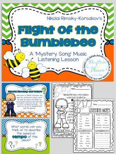 Flight of the Bumblebee Mystery Song Music Listening Lesson