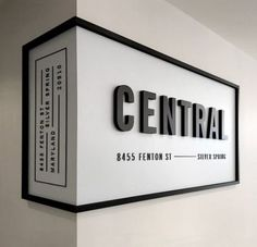 "Something like this, but not wrapped around the wall.black frame with modern lettering ""Kithkin Real Estate"" Something like this, but not wrapped around the wall.black frame with modern lettering Kithkin Real Estate Graphisches Design, Store Design, Wall Design, Text Design, Booth Design, Design Model, Design Elements, Shop Interior Design, Line Design"