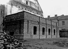 Synagoga -renowacja Babińca lata 50te XXw