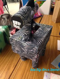 Valentine's Day mailboxes - turn a tissue box into an animal mailbox!