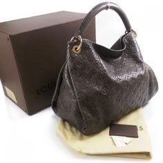 9b94a114838e Louis is so pretty Authentic Louis Vuitton, Grey Leather, Louis Vuitton  Monogram, Python