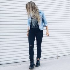 1460 Style: the iconic 1460 boot, shared by auralune White Girl Outfits, 30 Outfits, Grunge Outfits, White Girls, Fall Outfits, Casual Outfits, Cute Outfits, Fashion Outfits, Indie Fashion