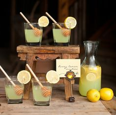 Image detail for -Quench your guests thirst with some fun honey inspired drinks! Honey ...